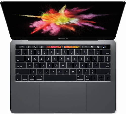 Macbook Pro w Touch Bar 13 inch-2016 A1706