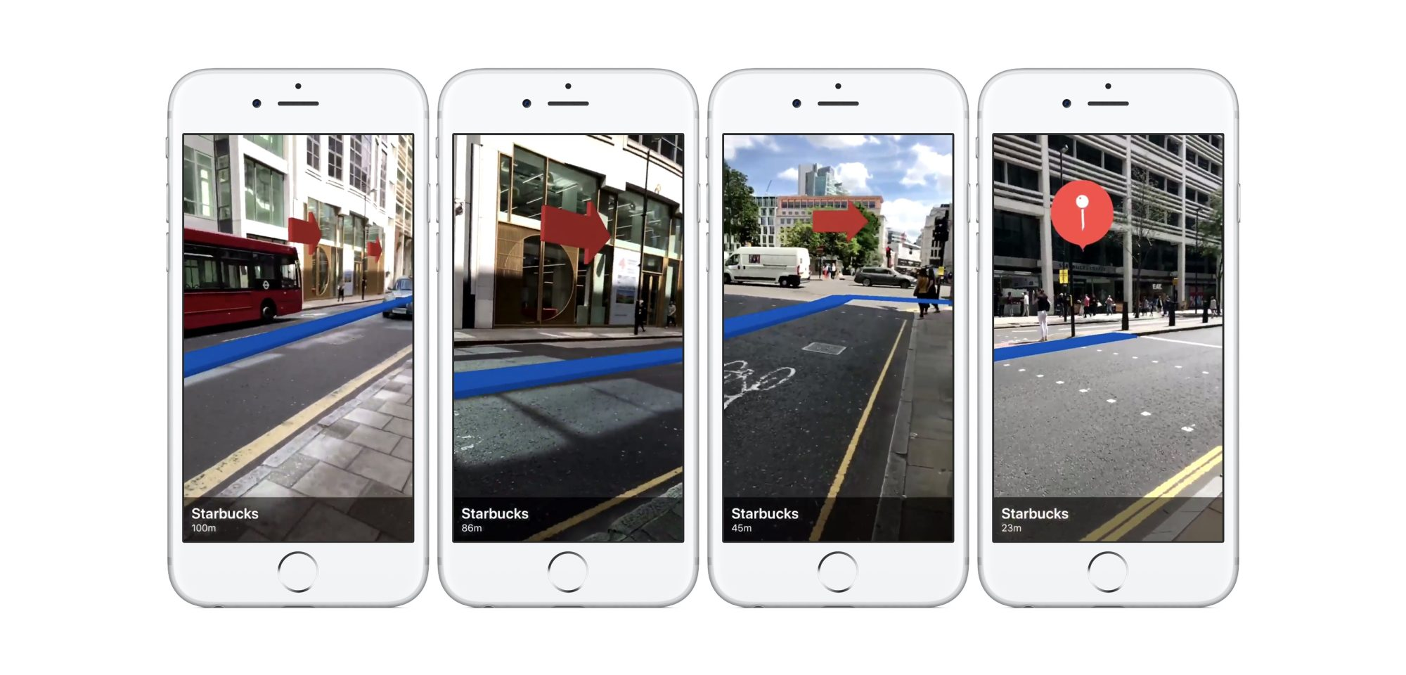 iOS 11 ARKit demo showcases real world navigation and Maps POI
